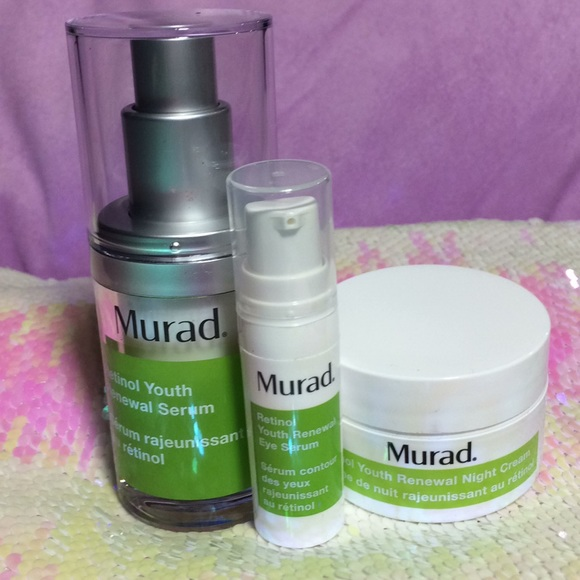 Murad Ready Radiant Retinol Kit trial sized NEW NWT